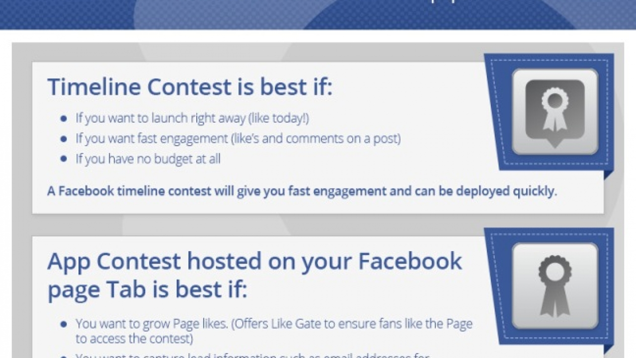 Timeline Contests and Tab Contests Compared [INFOGRAPHIC