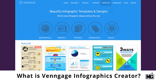 What is Venngage Infographics Creator?