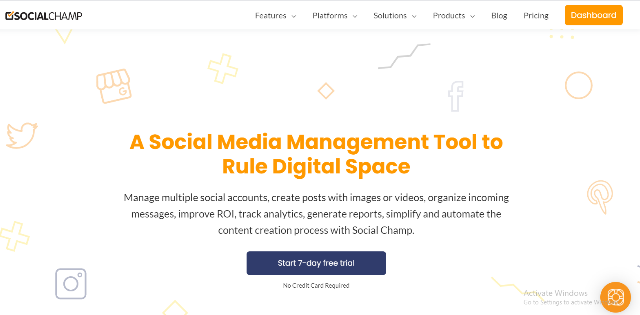 Social Champ Review- A Pocket-Friendly Tool for Turbocharged Social Media Marketing