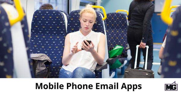 Mobile Phone Email Apps - 315