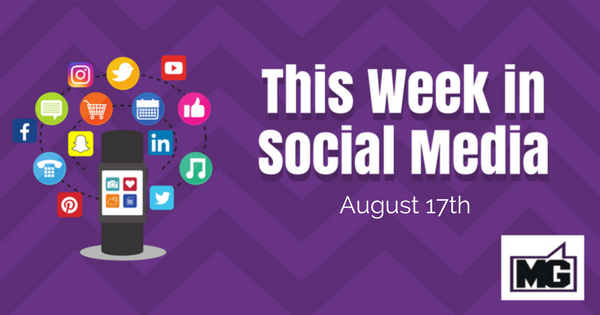 Facebook Big Announcements and Linkedin Updates for the Week Ending August 17