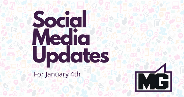 Instagram and Facebook Updates for January 4th