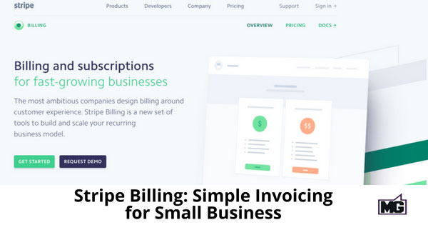 Stripe Billing Simple Invoicing For Small Business Mike Gingerich - Small business invoicing