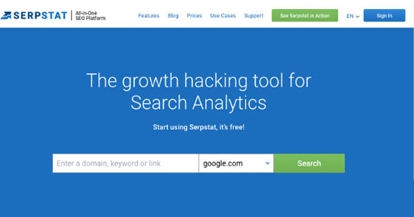 Image result for SERPstat - Free Competitors Analysis SEO Tool