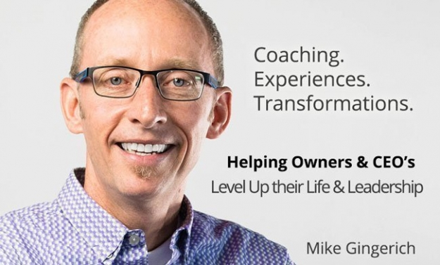 Mike Gingerich life leadership business coaching