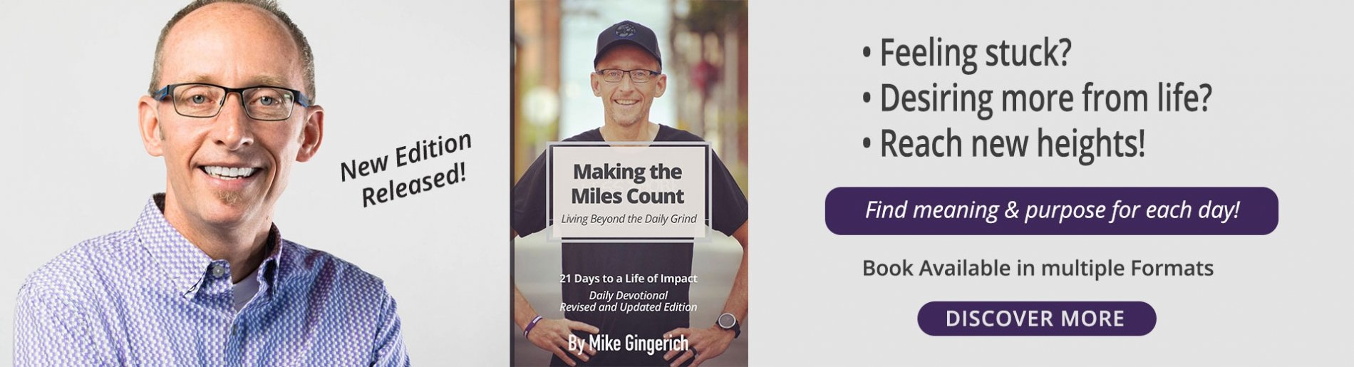 Making the Miles Count - Mike Gingerich Book
