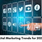Digital marketing trends for 2021.