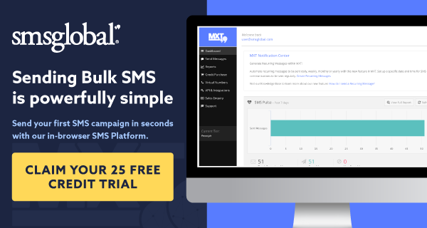 SMSGlobal SMS marketing software
