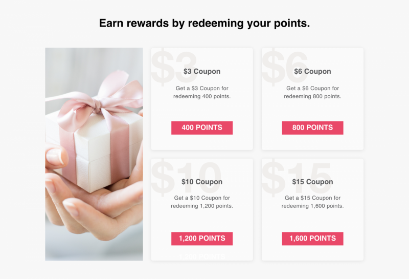 A Loyalty Rewards Program for Businesses