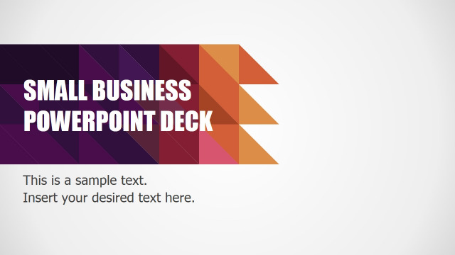 Small Business Presentation Tool - small business powerpoint deck
