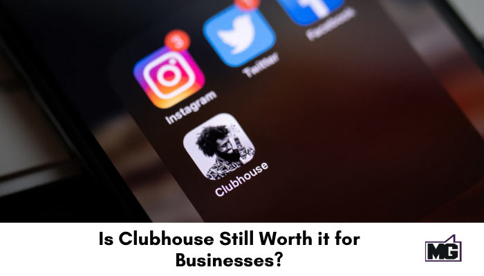 Clubhouse social media app icon