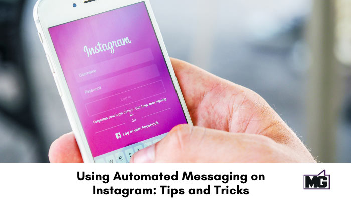 Automated messaging on Instagram.