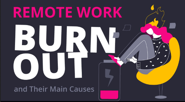 A Look at Why Remote Workers are Burning Out